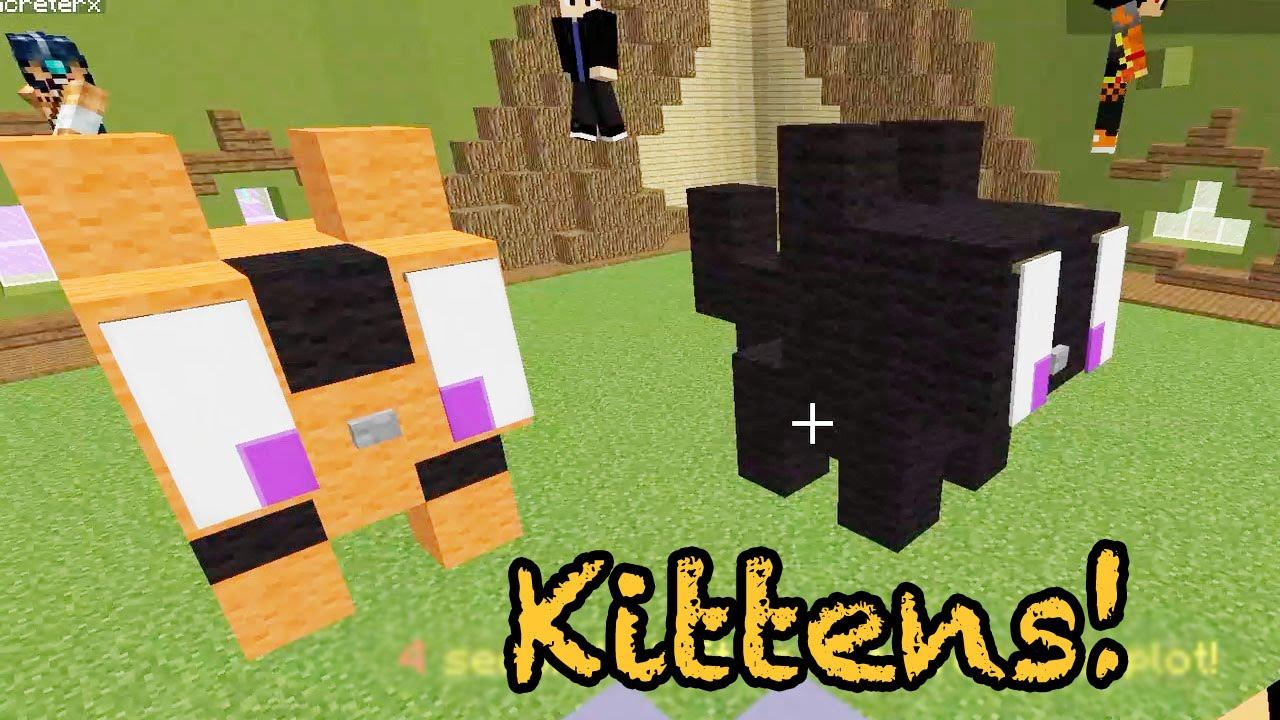 How To Build A Cute Bunny In Minecraft