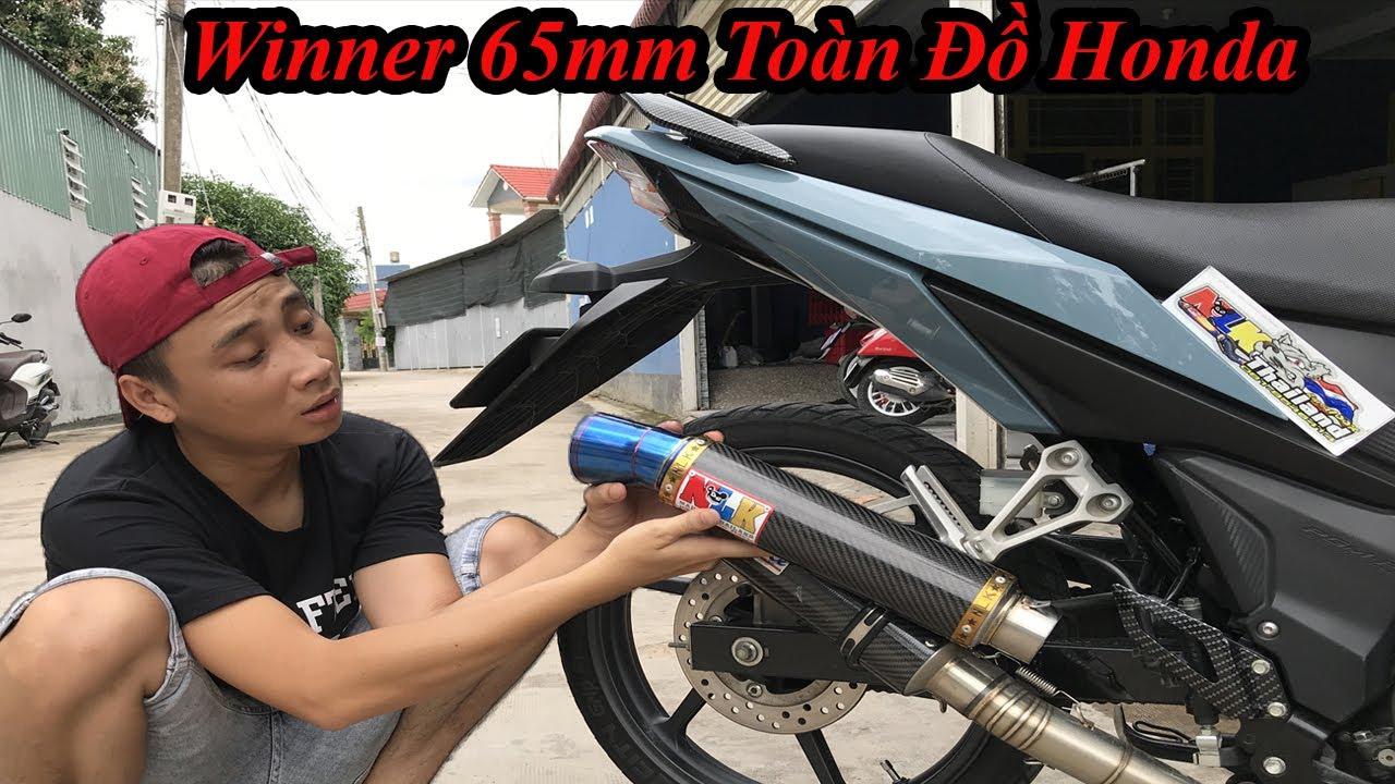 Độ Winner 65mm Xài Toàn Đồ Hãng