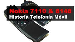 Nokia 7110 y 8148 | Historia de la Telefonía Móvil