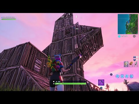 Fortnite Visit A Wooden Rabbit A Stone Pig And A Metal Llama Season 8 Week 6 Challenges