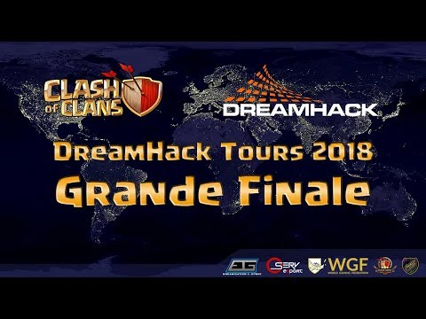 🔴DREAMHACK TOURS : FINALE FRANCE VS ALLEMAGNE CLASH OF CLANS