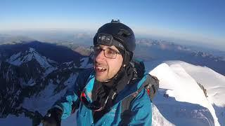 Mont Blanc Solo Climb 2020
