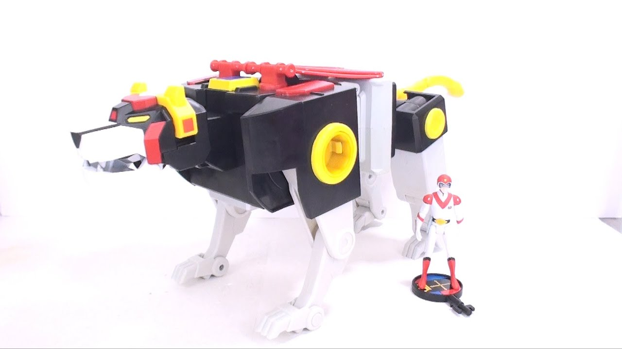 Video Review Of The Mattycollector.com Voltron: Black Lion