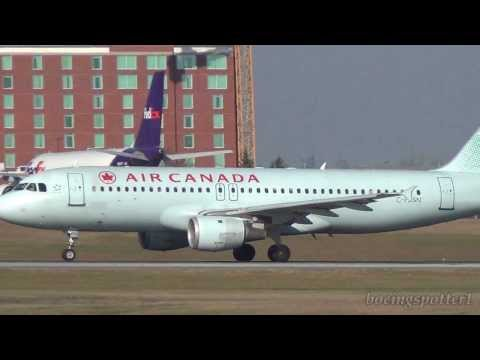 Air Canada Action @ Ottawa Airport