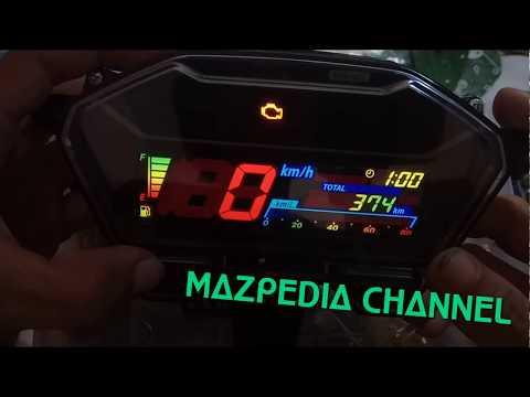 5 Menit Modifikasi Speedometer new Vario 150 jadi BERWARNA