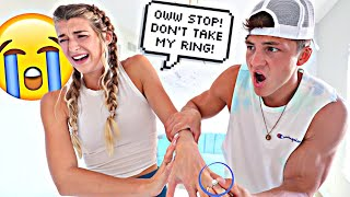 Starting An Argument Than Taking Her Engagement Ring Prank!