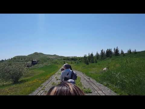 Mini  train Airdrie Alberta  Iron horse park  fun  place
