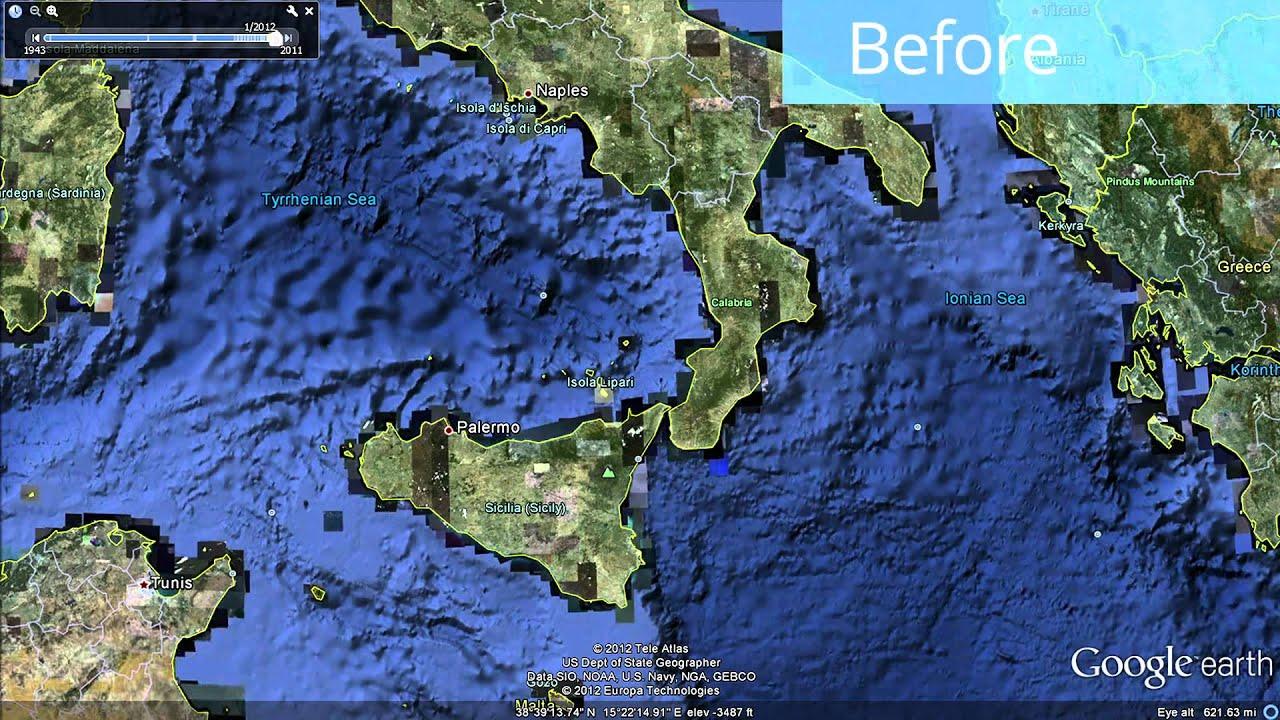 Global Seafloor Update In Google Earth YouTube - Updated maps on google earth