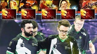 LIQUID 5x DAGON WHOLE TEAM— MIRACLE TECHIES on Battle Cup