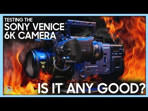 TESTING THE SONY VENICE 6K CAMERA!