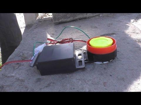 Посылочка из Китая. Мото сигнализация + Установка сигналки в мопед Ягуар Спорт S2