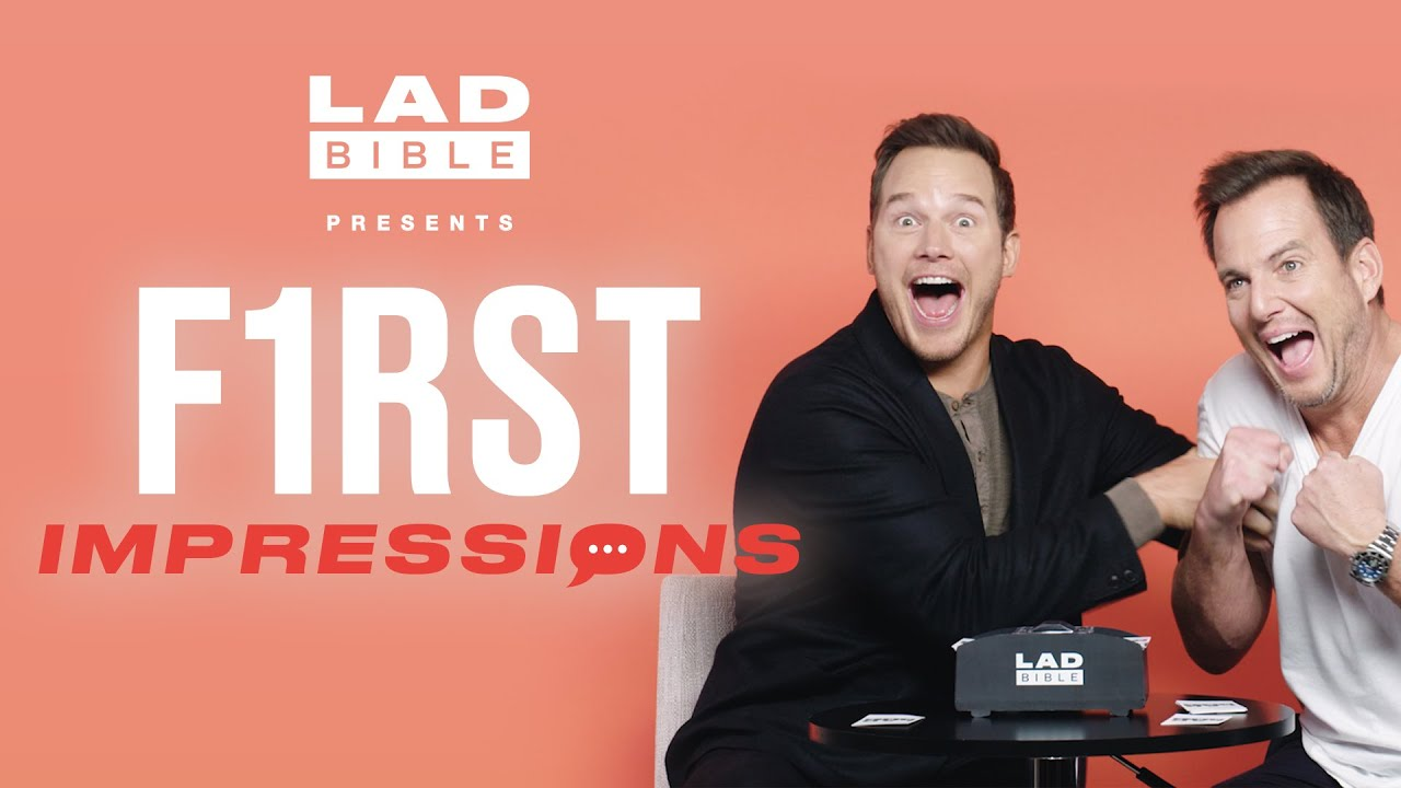 Chris Pratt vs Will Arnett Play First Impressions