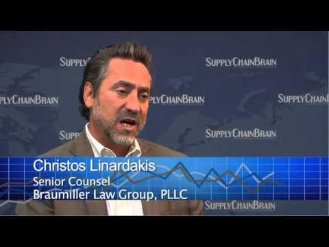 International Trade Attorney - Christos Linardakis with Braumiller Law Group