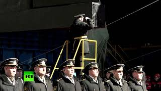 Атомную подлодку «Белгород» cпустили на воду