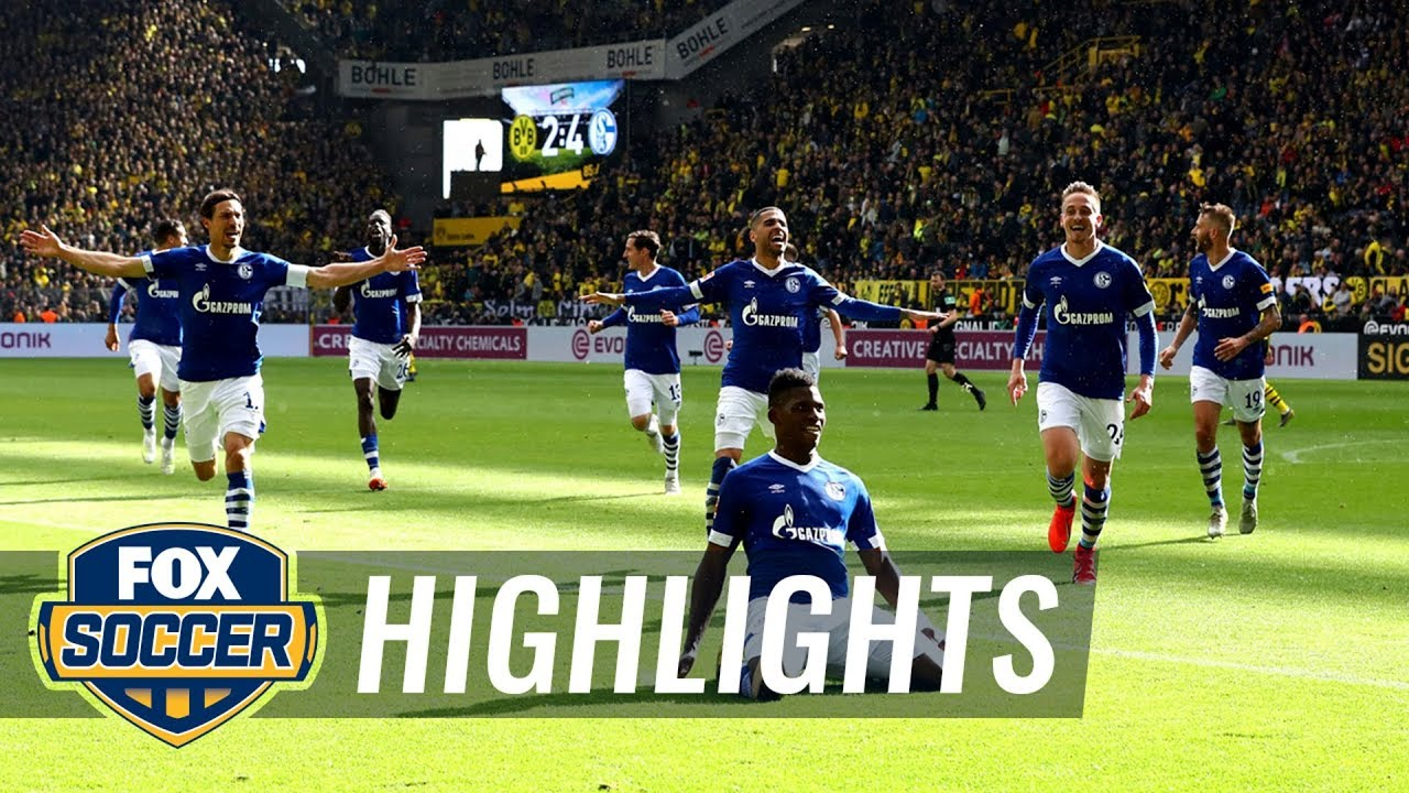 Dortmund Schalke 2021 Highlights