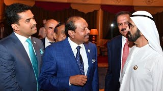 M.A Yusuf Ali attends Ramadan Reception by Vice President of UAE • Bhatkal Times