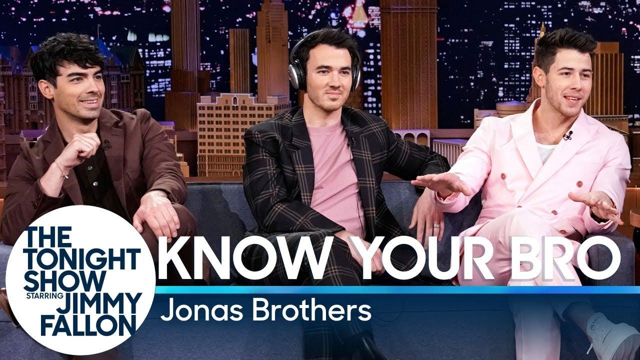 Jonas Brothers Talk Bachelor Party Hijinks Perform Only Human On Fallon Billboard