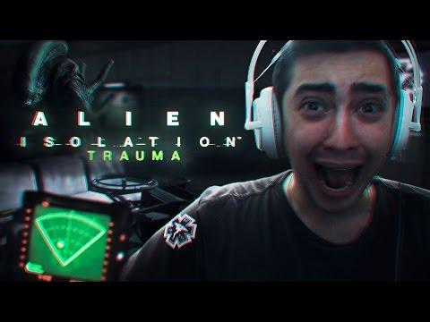 ELE TA ATRÁS DE MIM! - ALIEN: ISOLATION (TRAUMA DLC)