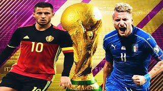 Italia - Belgia Cupa Mondiala 2018 , O tona de Goluri || FIFA 18 România World Cup ITALY #3