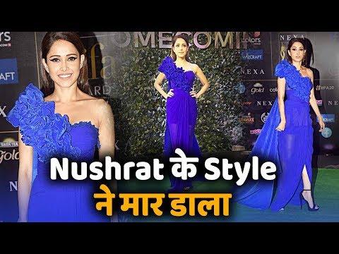 IIFA Awards में Nushrat Bharucha को Blue Dress में देख आपके भी छूट जाएंगे पसीने Mp3