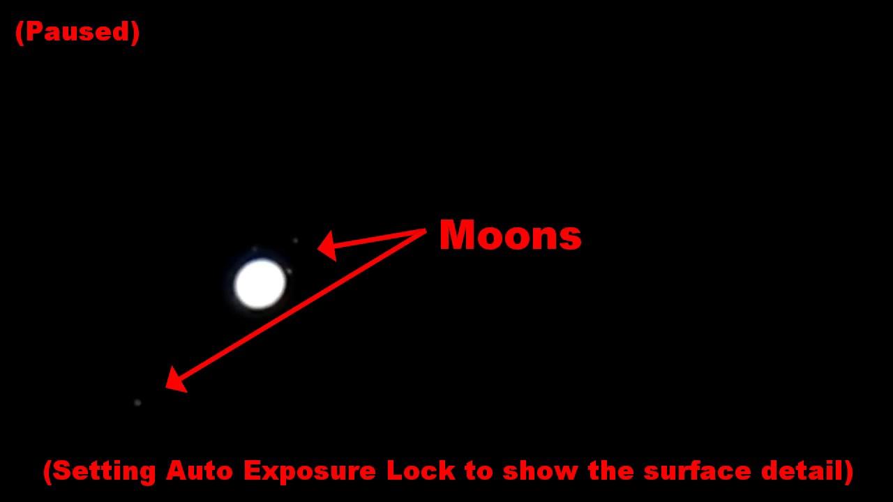 Moon and jupiter nikon p900 april 16 2017