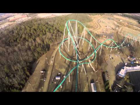 Even the Video of This Roller Coaster is Terrifying
