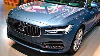 На чём сэкономили в Volvo S90? И седан кроссовер Вольво S60 Cross Country