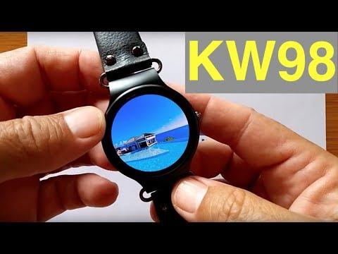 Kingwear KW98 Early Prototype Smartwatch: First Look
