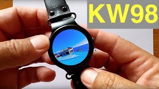 Kingwear KW98 Early Prototype Smartwatch: First Look