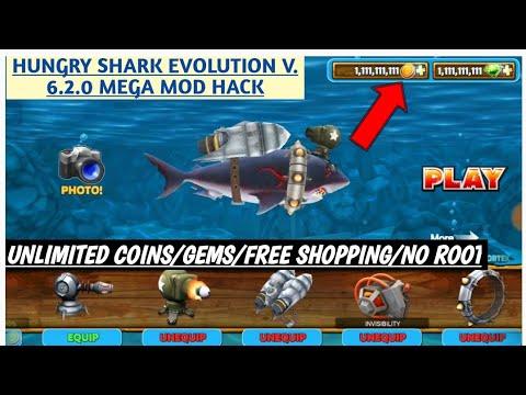 Hungry Shark Evolution V 6 2 0 Mega Mod Hack 100 Real No Fake