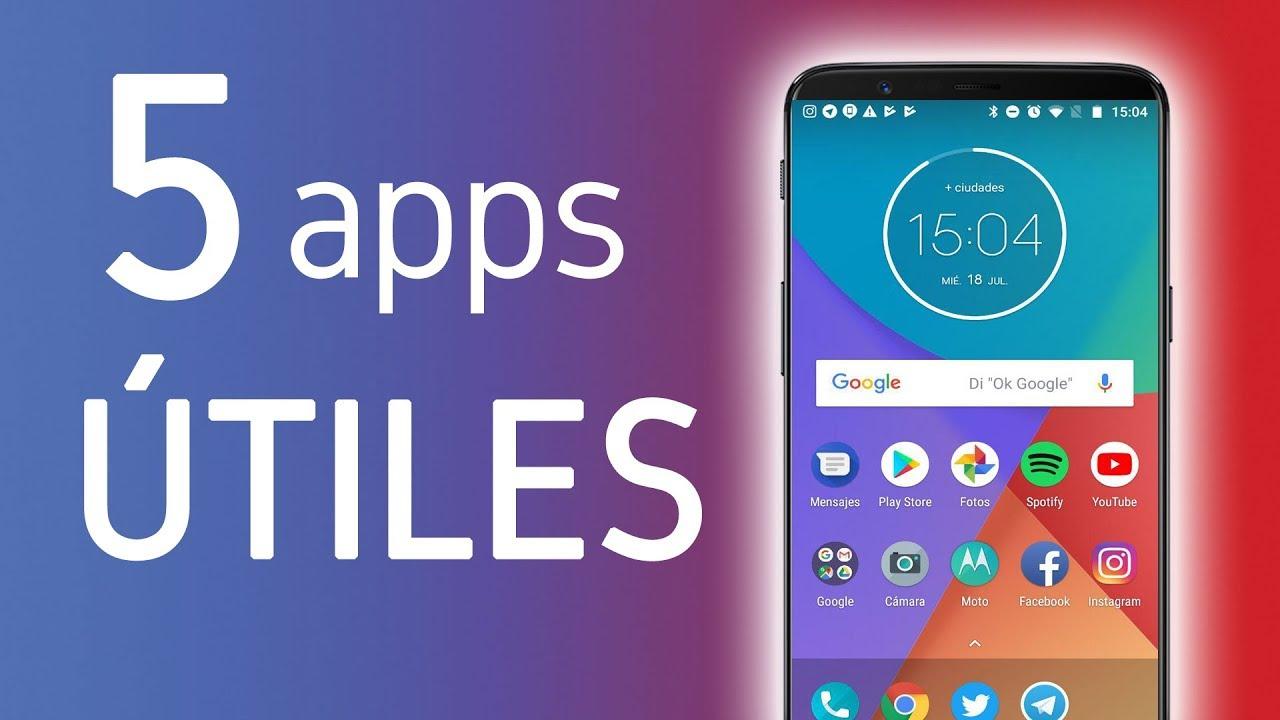 Aplicaciones buenas para el celular