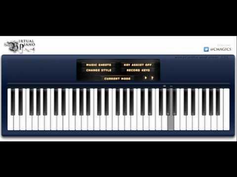 Tsunaida te ni kiss wo Virtual Piano by Daniel127