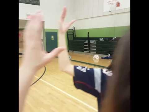 Griswold High School Cheerleaders #mannequinchallenge