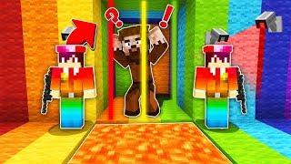 FAKİR RENKLİ HAPİSHANEDEN KAÇIYOR! 😱 - Minecraft Video