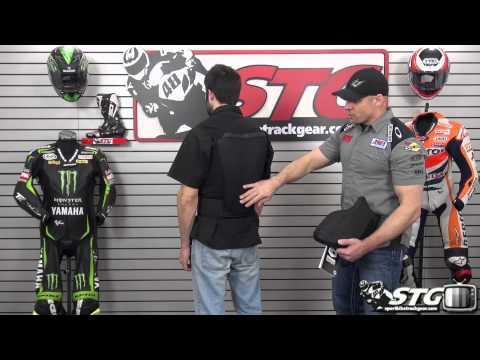 KNOX Fast Back Gilet Back Protector Black V14 Review from Sportbiketrackgear.com