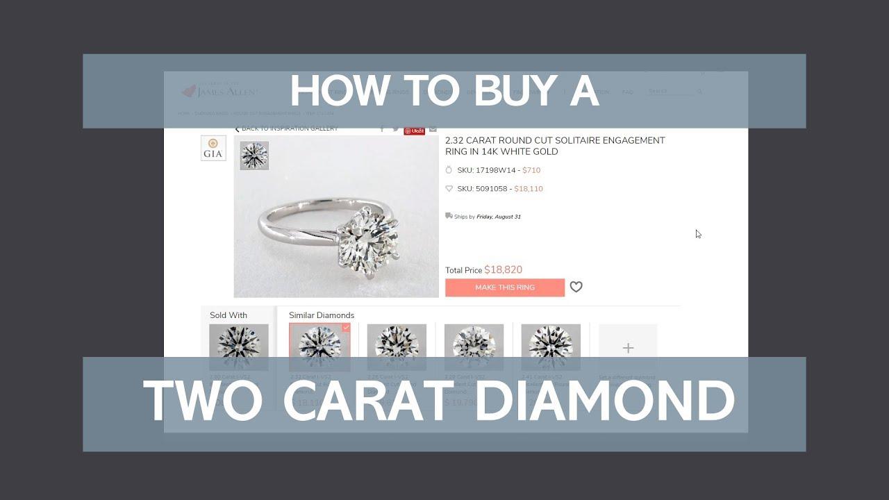 2 Carat Diamond Ring: The Expert Buying Guide | The Diamonds Pro