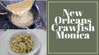 New Orleans Jazz Fest inspired Crawfish Monica Pasta in under 4 minutes