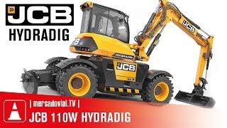 NUEVAS Excavadoras Neumáticos JCB 110W Hydradig en Sudamérica | Dercomaq Chile