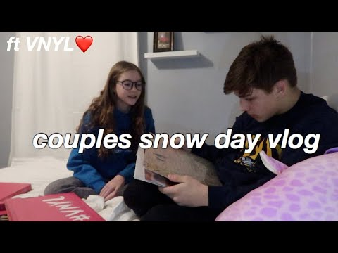 COUPLES SNOW DAY VLOG