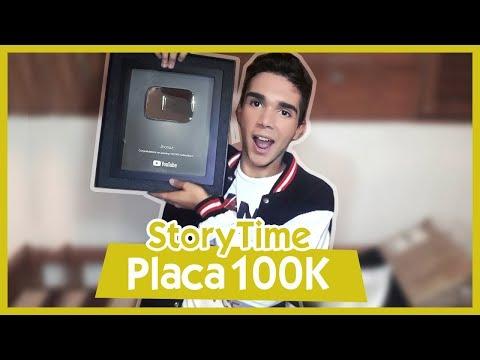 StoryTime Placa 100 Mil Suscriptores  - Jhonaz