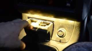 Подсветка пепельницы ВАЗ 2110