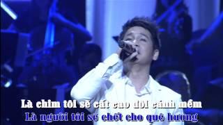 Tự Nguyện [Karaoke-Lyrics] - Trọng Tấn | Liveshow Đêm Nhạc Trọng Tấn Full HD 1080P