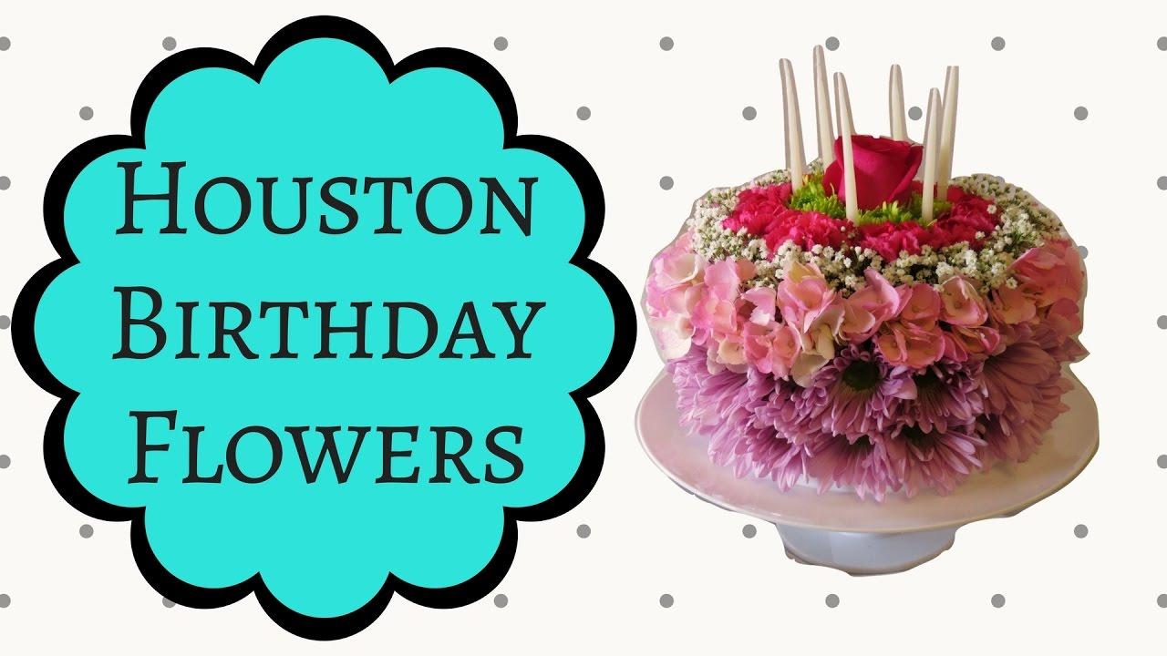 Houston Flowers Delivery Birthday Arrangements YouTube