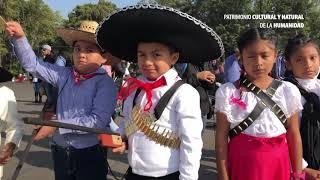 Ceremonia Cívica por el 109 aniversario de la Revolución Mexicana.