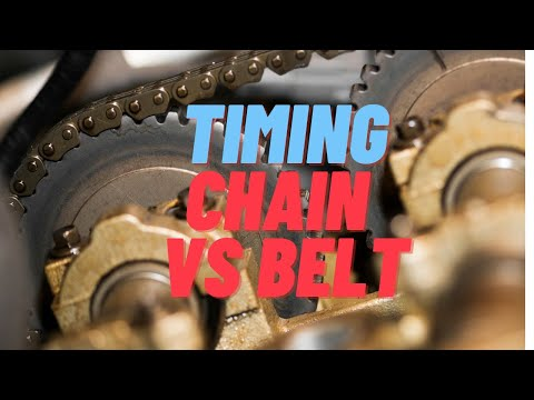 ▶️Timing Chains vs Timing Belts, Advantages and Disadvantages of each  Can  You Afford Not To Know!!