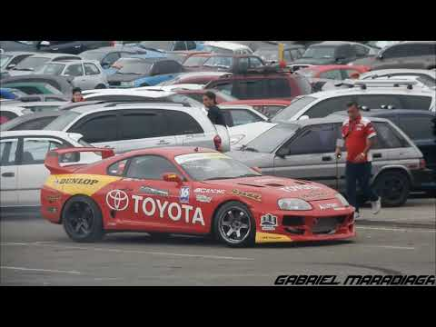 Toyota Supra Drifting-Toyota Weekend Costa Rica 2017