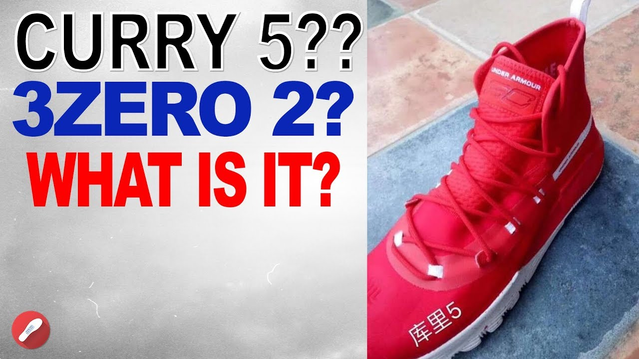 acae2f232ac0 Under Armour Curry 5 Leak ! Curry 3 Zero 2  What is it ! The Sole Brothers