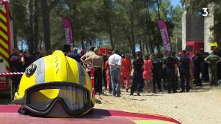 A Castries, les pompiers se préparent à affronter les incendies cet été