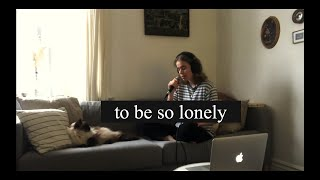 Cover images To Be So Lonely - Harry Styles (cover by Emma Beckett)