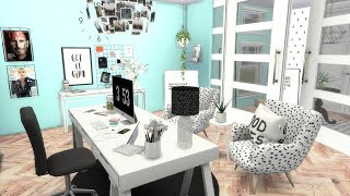 THE SIMS 4: SPEED BUILD // OFFICE + CC LINKS